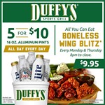 Catch all the football action at Duffy