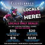 Clevelander Football is for the Locals!