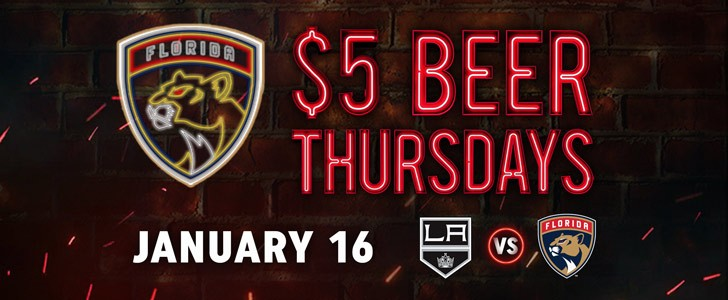 Raise Your Glasses to $5 Beer Thursday!